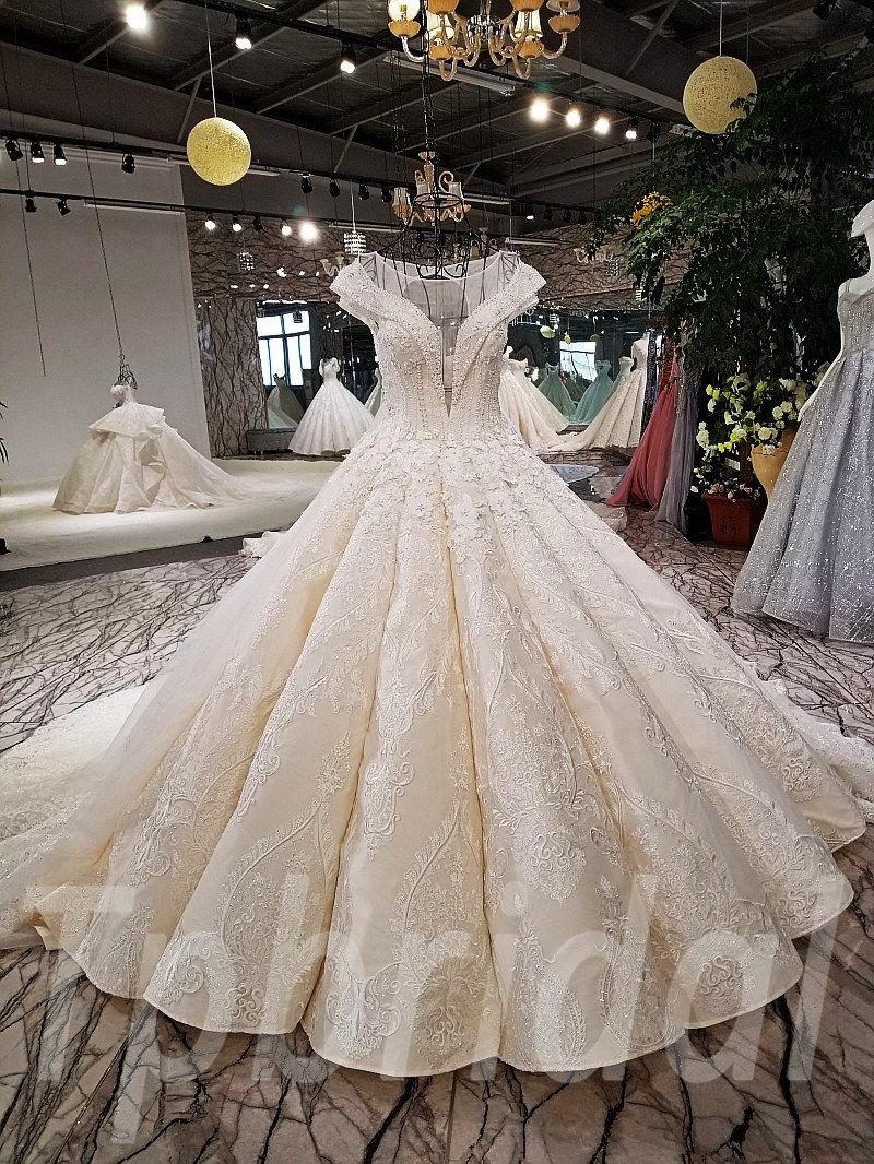Wedding Dress Plus Size Princess Ball Gown