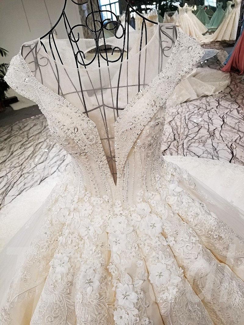 Wedding Dress Plus Size Princess Ball Gown • tpbridal