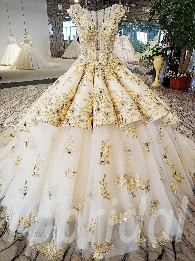Plus Sizes Wedding Dress Gorgeous Ball Gown Bridal Dresses