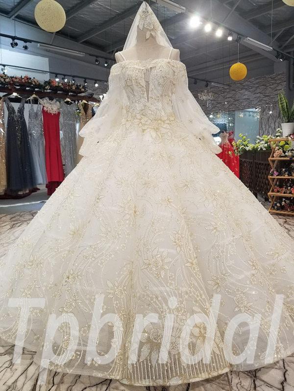 31299e7078 Gold wedding dresses online shopping gorgeous bridal gown sale ...