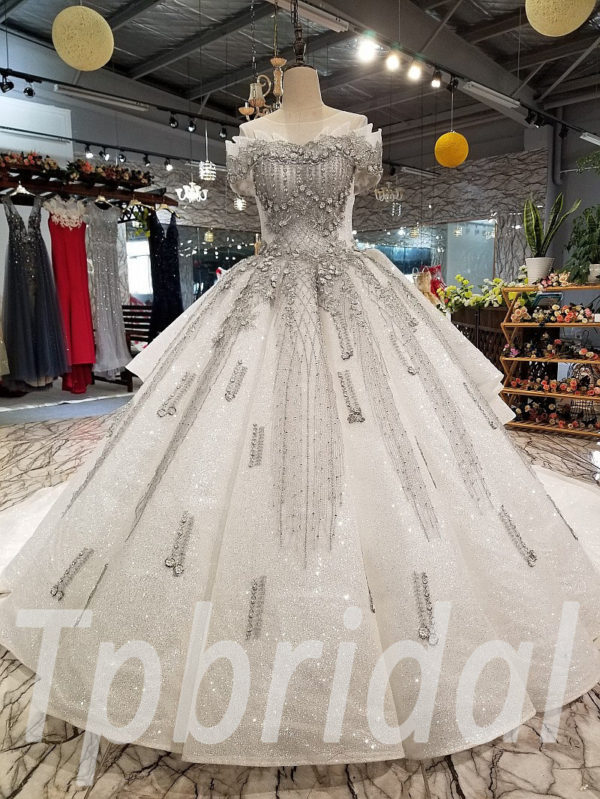 ca8032d167a36 Grey prom dresses gorgeous hand made formal party dress online