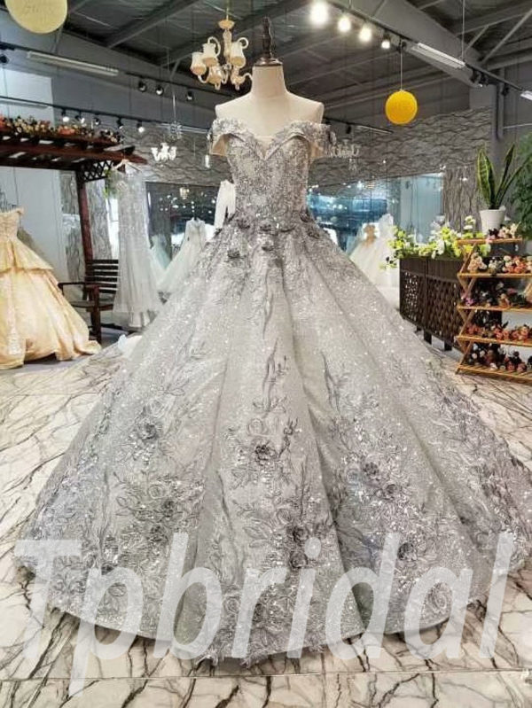 09669d647 Grey prom dresses gorgeous hand made formal party dress online