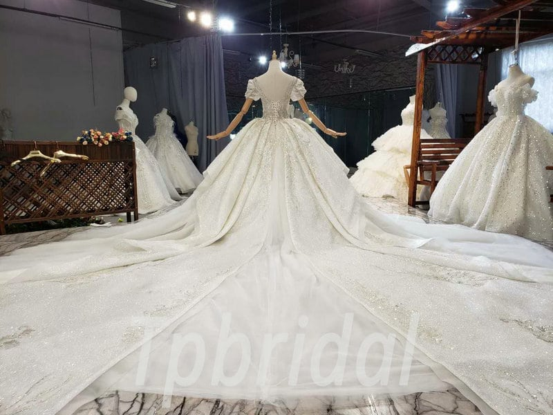 Princess Ball Gown Wedding Dress With Bling Wholesale Online
